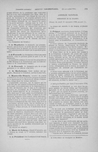 Tome 20 : Du 23 octobre au 26 novembre 1790 - page 373