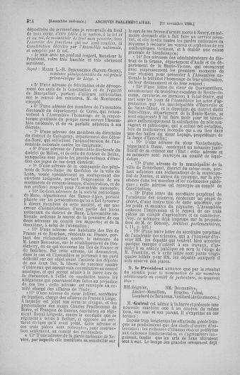 Tome 20 : Du 23 octobre au 26 novembre 1790 - page 374
