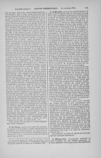 Tome 20 : Du 23 octobre au 26 novembre 1790 - page 375