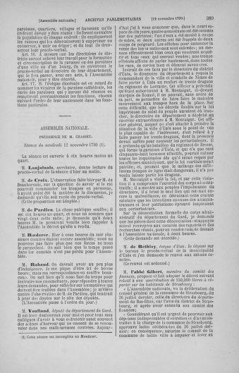 Tome 20 : Du 23 octobre au 26 novembre 1790 - page 389