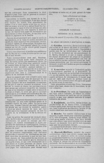 Tome 20 : Du 23 octobre au 26 novembre 1790 - page 403
