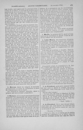 Tome 20 : Du 23 octobre au 26 novembre 1790 - page 471