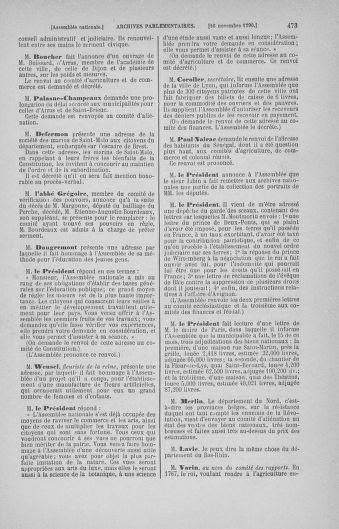 Tome 20 : Du 23 octobre au 26 novembre 1790 - page 473