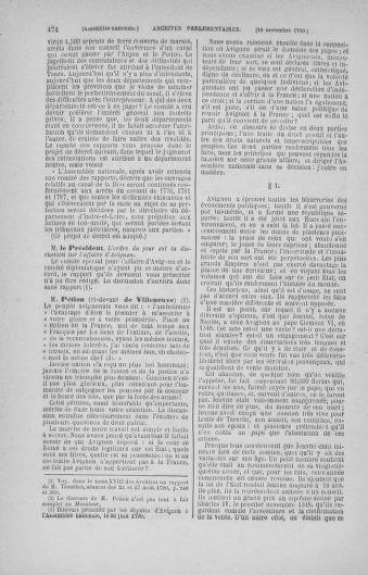 Tome 20 : Du 23 octobre au 26 novembre 1790 - page 474
