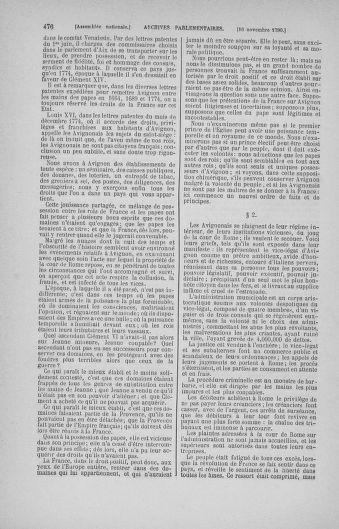 Tome 20 : Du 23 octobre au 26 novembre 1790 - page 476