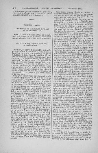 Tome 20 : Du 23 octobre au 26 novembre 1790 - page 510