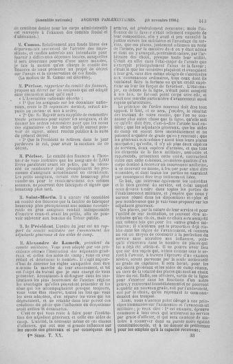 Tome 20 : Du 23 octobre au 26 novembre 1790 - page 513