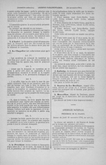 Tome 20 : Du 23 octobre au 26 novembre 1790 - page 519