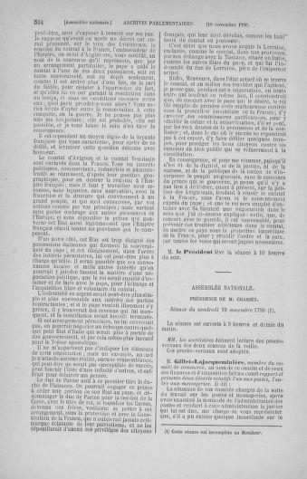 Tome 20 : Du 23 octobre au 26 novembre 1790 - page 534