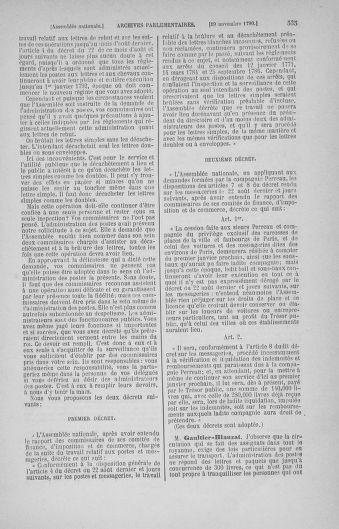 Tome 20 : Du 23 octobre au 26 novembre 1790 - page 535