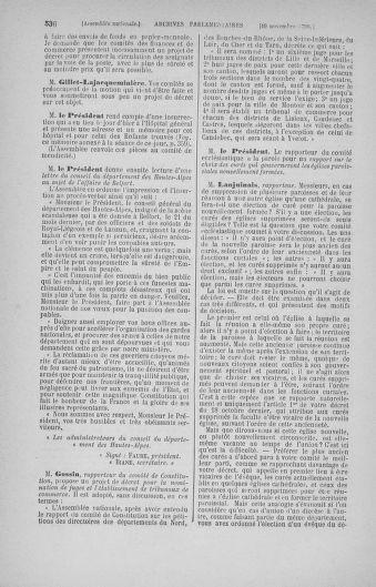 Tome 20 : Du 23 octobre au 26 novembre 1790 - page 536