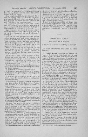Tome 20 : Du 23 octobre au 26 novembre 1790 - page 547