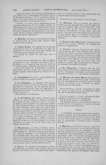 Tome 20 : Du 23 octobre au 26 novembre 1790 - page 548