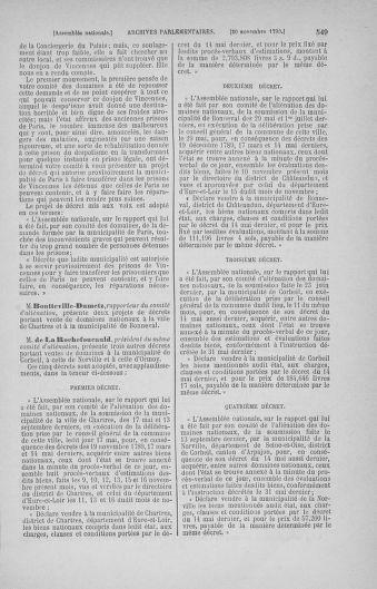 Tome 20 : Du 23 octobre au 26 novembre 1790 - page 549
