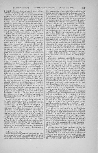 Tome 20 : Du 23 octobre au 26 novembre 1790 - page 607