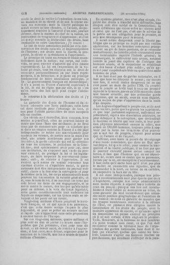 Tome 20 : Du 23 octobre au 26 novembre 1790 - page 608