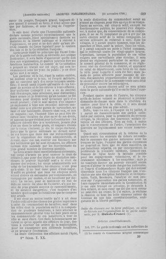 Tome 20 : Du 23 octobre au 26 novembre 1790 - page 609