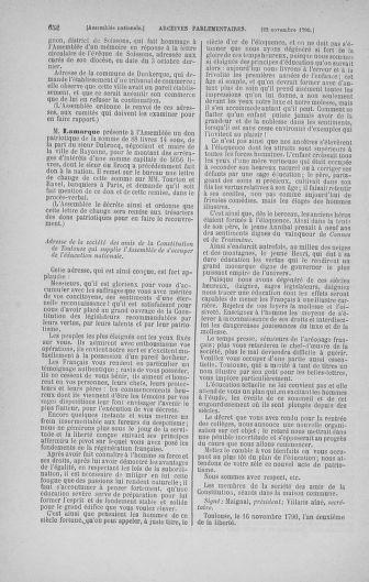 Tome 20 : Du 23 octobre au 26 novembre 1790 - page 652