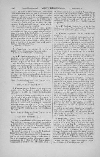 Tome 20 : Du 23 octobre au 26 novembre 1790 - page 690