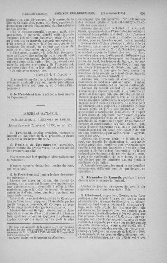 Tome 20 : Du 23 octobre au 26 novembre 1790 - page 693