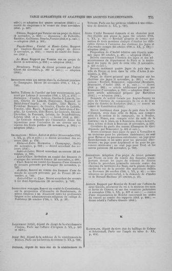 Tome 20 : Du 23 octobre au 26 novembre 1790 - page 775
