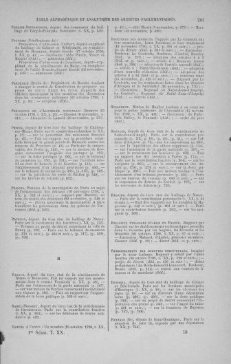 Tome 20 : Du 23 octobre au 26 novembre 1790 - page 781