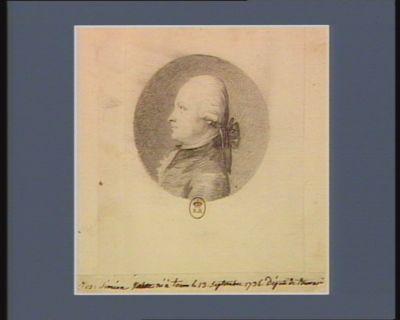 Jos. Siméon [Valette] né à Tours le 13 septembre 1736 député de Tourraine : [dessin]