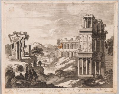 Palatino, Settizonio e costruzioni della Domus Severiana