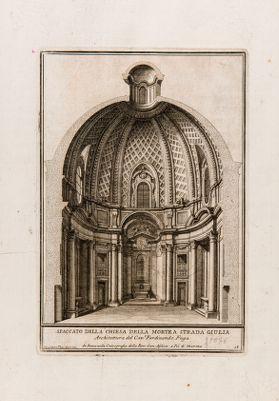 Chiesa di S. Maria della Morte a via Giulia, spaccato