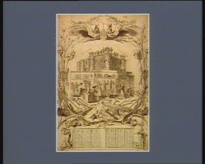 Almanach pour la presente année la démolition de la Bastille. La France enchainée, la France libre : [estampe]