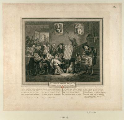 La  Joie du peuple français à l'annonce du traité de paix avec l'Empire la paix grand Dieu ! la paix quelle nouvelle... : [estampe]