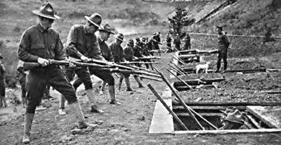 World War I troops
