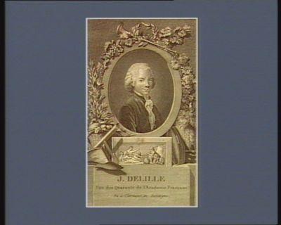 J. Delille l'un des quarante de l'Academie française... : [estampe]