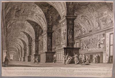 Palazzo Vaticano. Biblioteca, sala Sistina