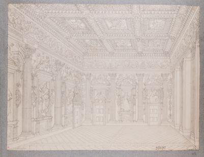 Palazzo Vaticano. Sala dei Palafrenieri, veduta generale