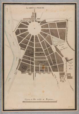 Piazza del Popolo, progetto di sistemazione