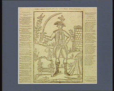 Veritable portrait du général Bonaparte [estampe]