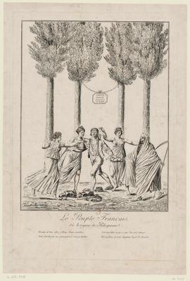 Le  Peuple français, où le régime de Robespierre [estampe]