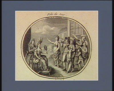 Venus ou la pretendu comete au commencement de ce siècle, une comete apparut à Paris : elle ne fut pas comme aujourd huy pour quelques personnes le sujet de tristes reflexions... : [estampe]