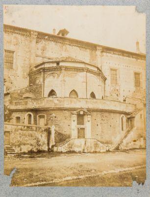 Chiesa di S. Giovanni in Laterano, abside esterno e portico Leoniano