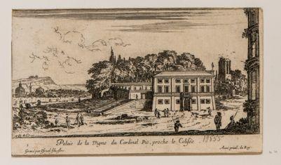 Palazzo della Vigna del Cardinale Pio. Colosseo, Torre delle Milizie