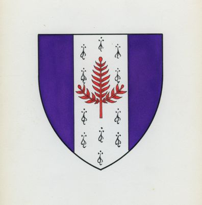 Stanford University. School of Law. Coat of Arms