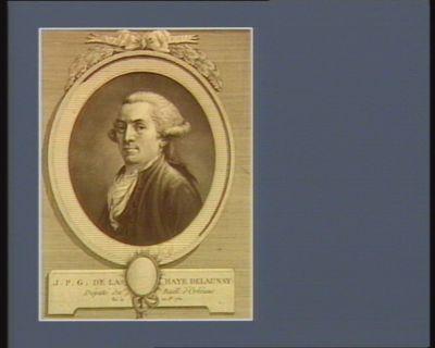 J.P.G. de la Haye Delaunay député du baill. d'Orléans, né le 22 j.et 1761 : [estampe]