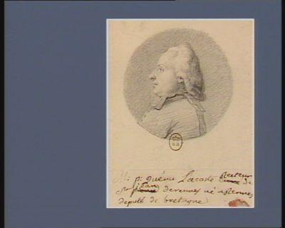 M.P. Queru-Lacoste, recteur de St Jean de Rennes né à Rennes député de Bretagne : [dessin]