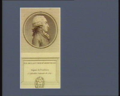 <em>E</em>. P. de Lattre d'Abbeville député de Ponthieu à l'Assemblée nationale de 1789 : [estampe]