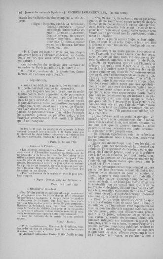 Tome 44 : Du 22 mai au 8 juin 1792 - page 80