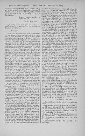 Tome 44 : Du 22 mai au 8 juin 1792 - page 111
