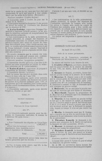 Tome 44 : Du 22 mai au 8 juin 1792 - page 197