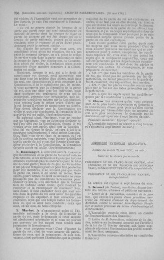 Tome 44 : Du 22 mai au 8 juin 1792 - page 286