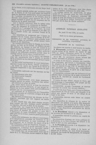 Tome 44 : Du 22 mai au 8 juin 1792 - page 360